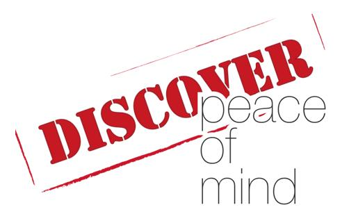 Discover Peace of Mind