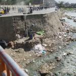 Kabul River in summer